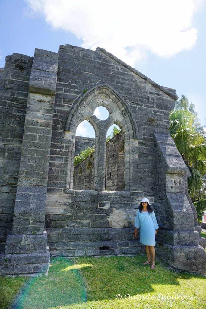 Unfinished Church in St. George's, Bermuda