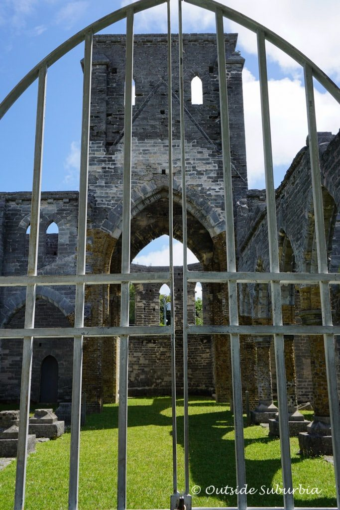 Unfinished Church in Bermuda