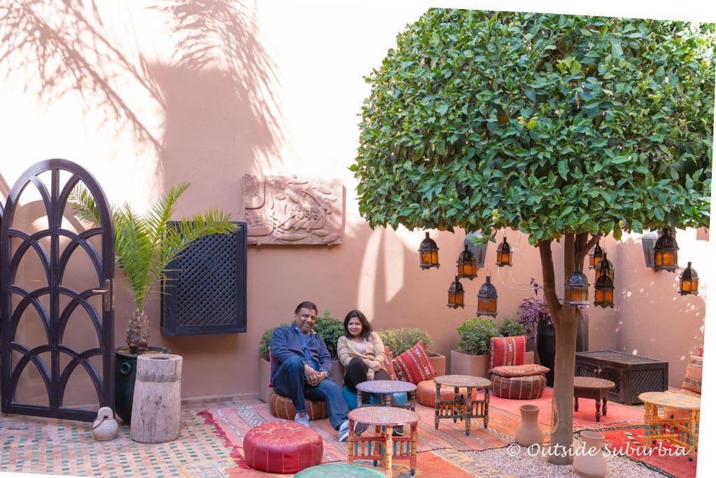 Kasbah Tamadot - Morocco - Priya Vin - OutsideSuburbia.com
