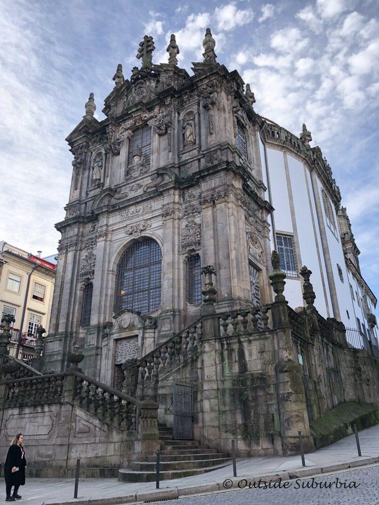 The Clérigos Church and Tower , Porto