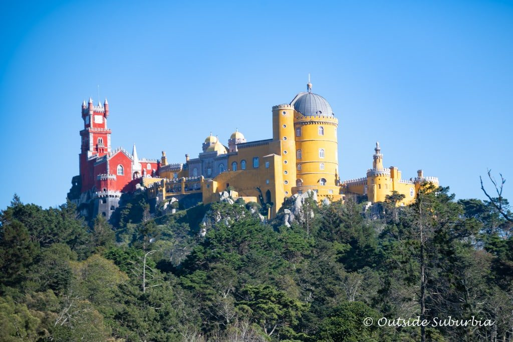 Pena Palace, Sintra - Beautiful places in Portugal you need to visit - OutsideSuburbia.com