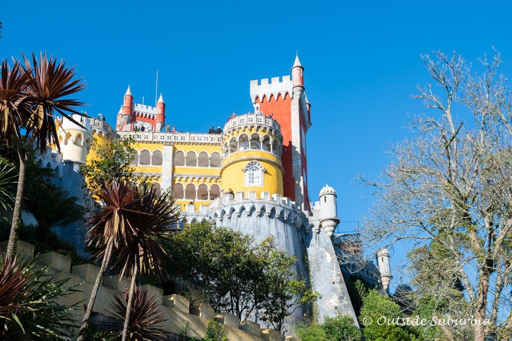 The Pena Palace is a UNESCO World Heritage Site and considered one of the Seven Wonders of Portugal.