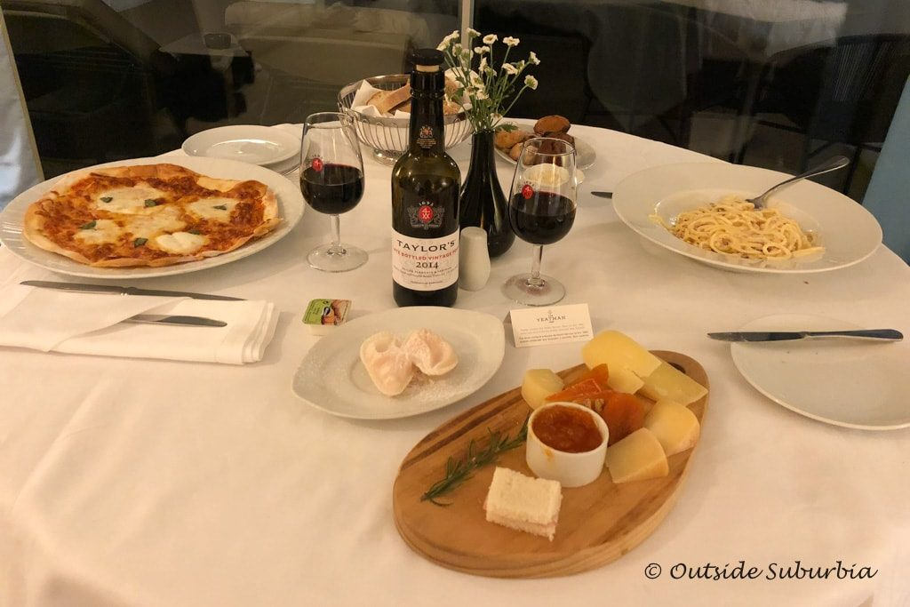 Room service at the Yeatman Hotel | Outside Suburbia