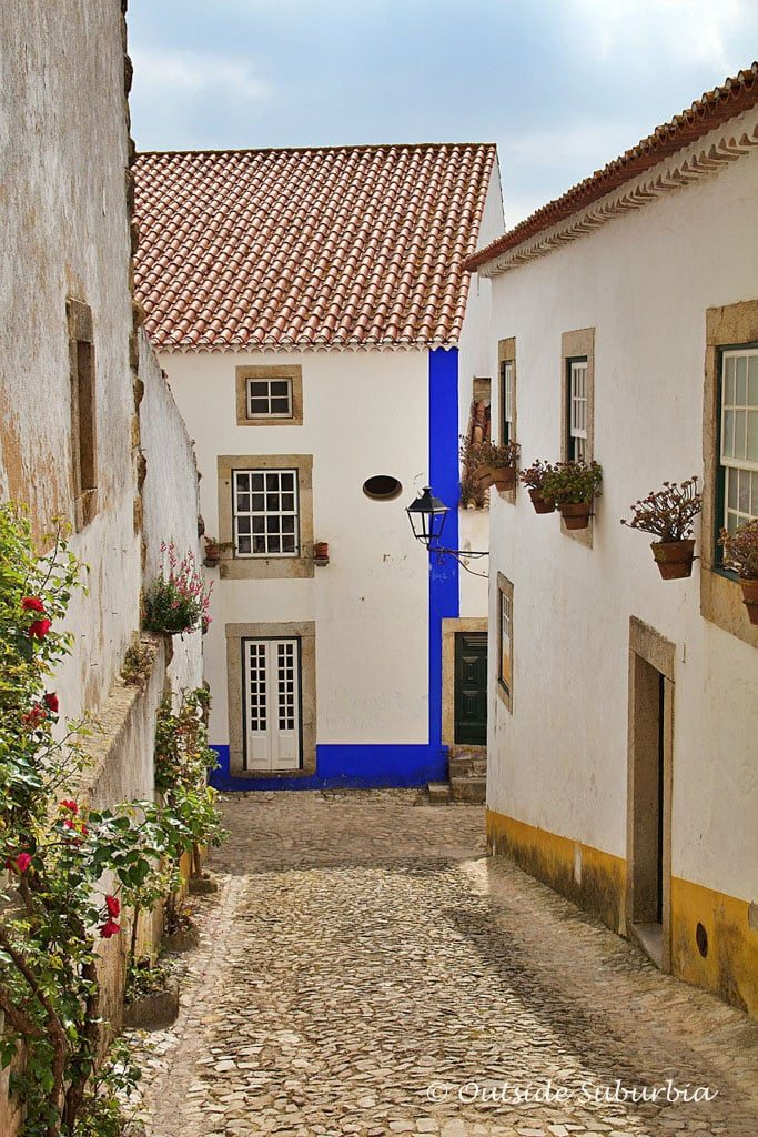 Streets of Óbidos, Portugal