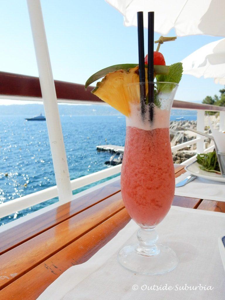 Lunch at Hotel du Cap-Eden-Roc