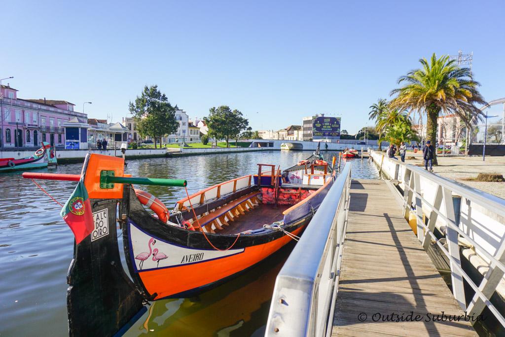 Moliceiros in Aveiro, Portugal