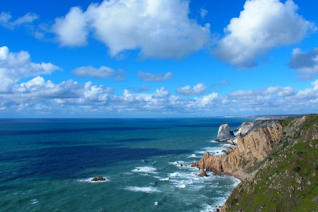 Cabo da Roca, thewesternmost point of the European continent
