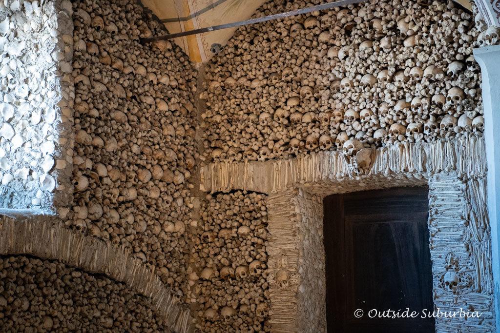 The Bone Chapel in Evora, Portugal | Outside Suburbia