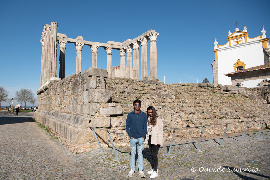 Roman Temple of Évora - OutsideSuburbia.com