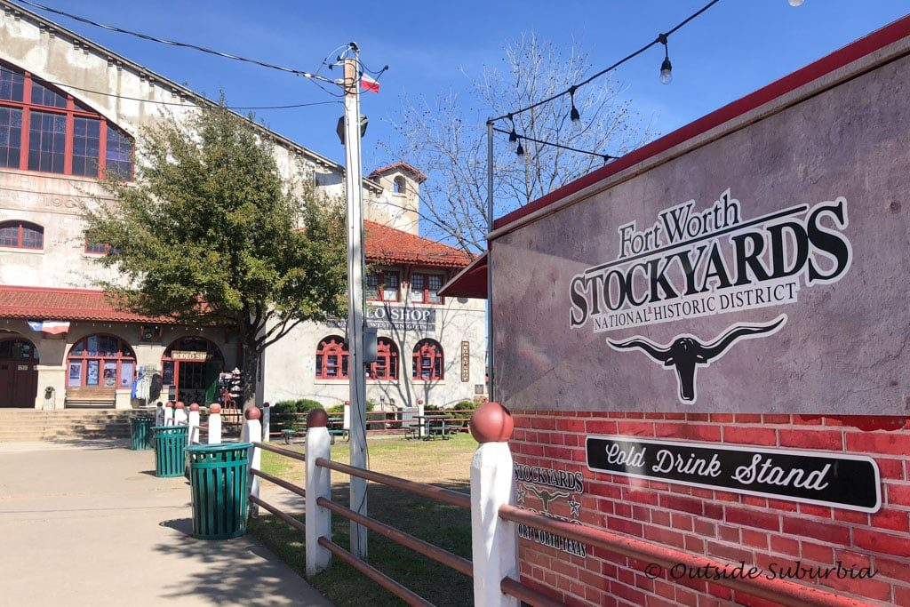 Stockyards in Fort Worth to get a glimpse of the Old West