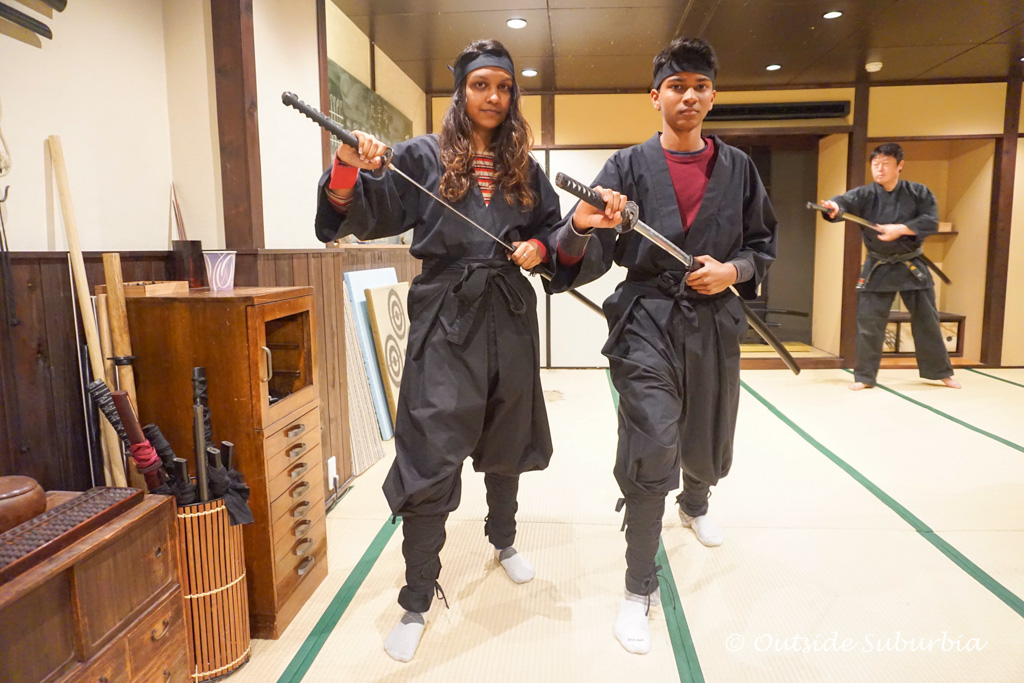 An Authentic Ninja Training Experience in Kyoto