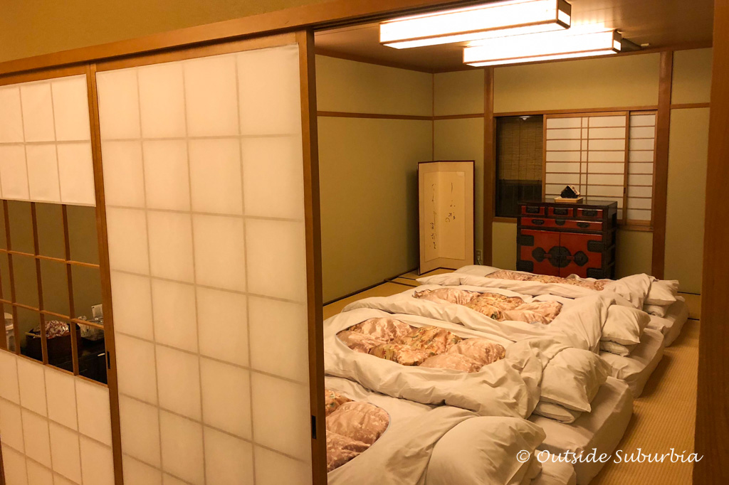 Best Ryokan in Kyoto - Two week Japan Itinerary - Photo by Outside Suburbia