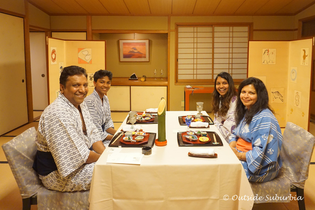 A tradtional Japanese meal in Kyoto | Outside Suburbia