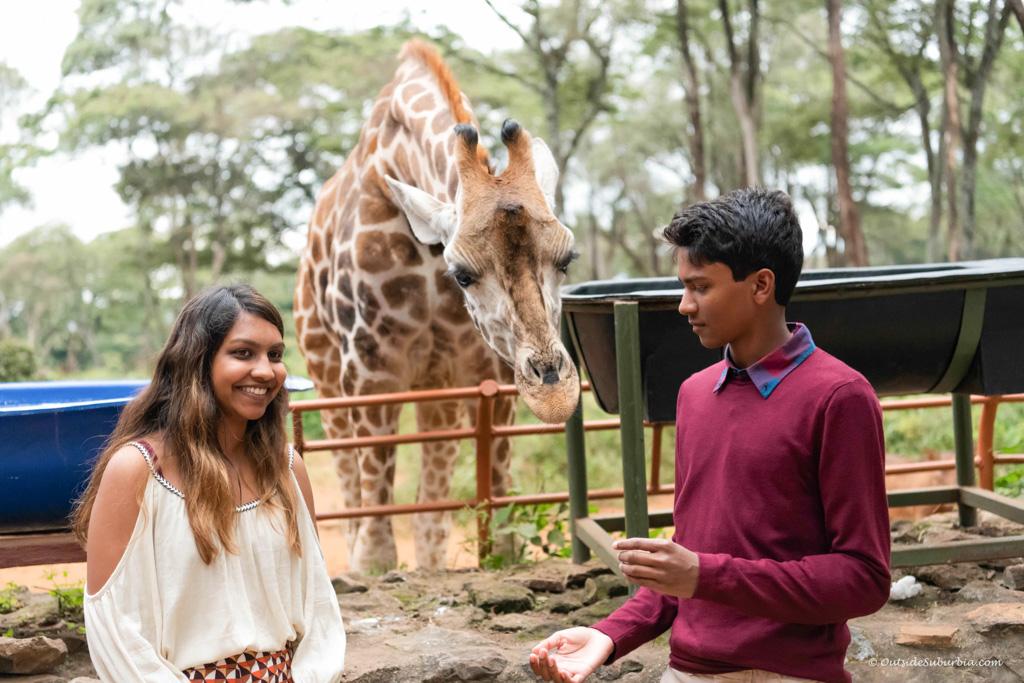 Giraffe center, Nairobi, Kenya - Photo by OutsideSuburbia.com