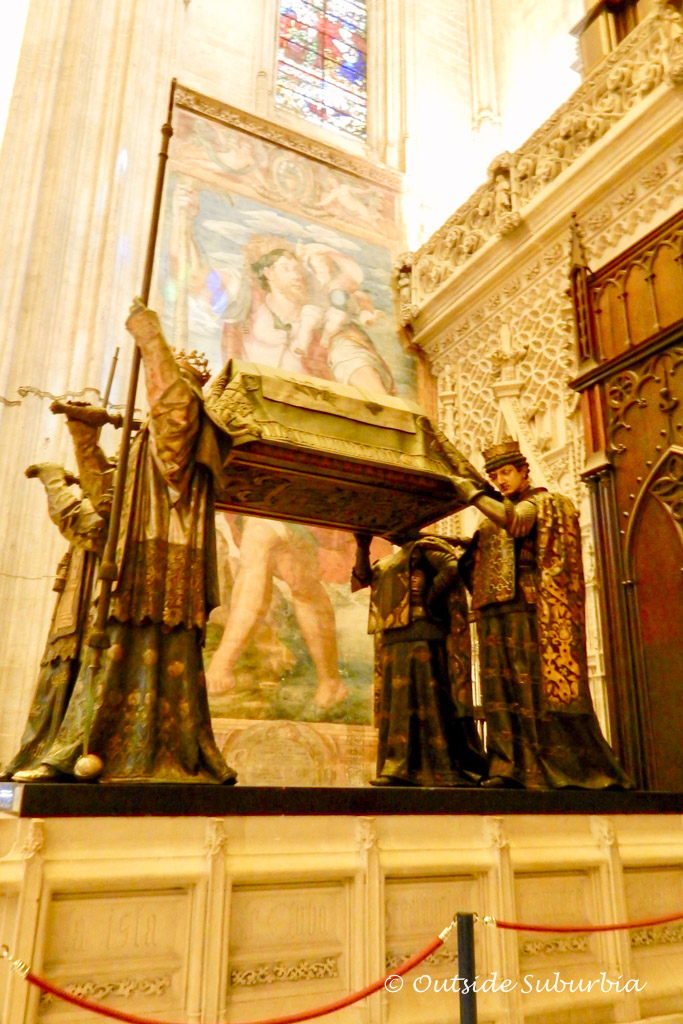 Christopher Columbus tomb - 7 day Andalucia, Southern Spain Itinerary | Outside Suburbia