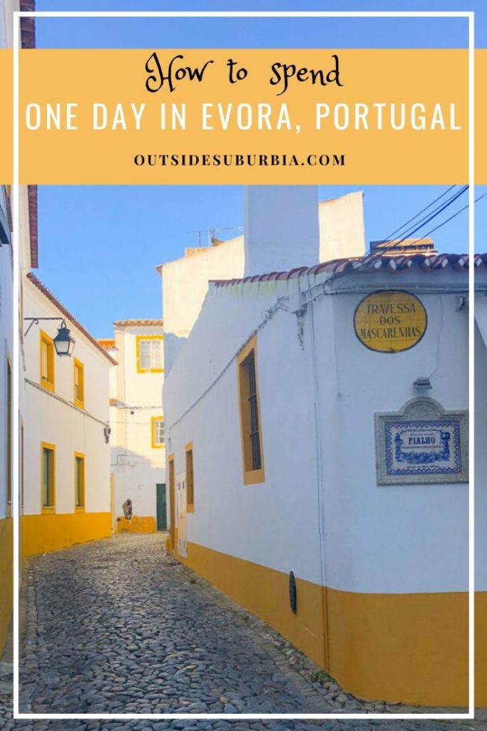 How to spend one day trip to Evora, Portugal | Outside Suburbia