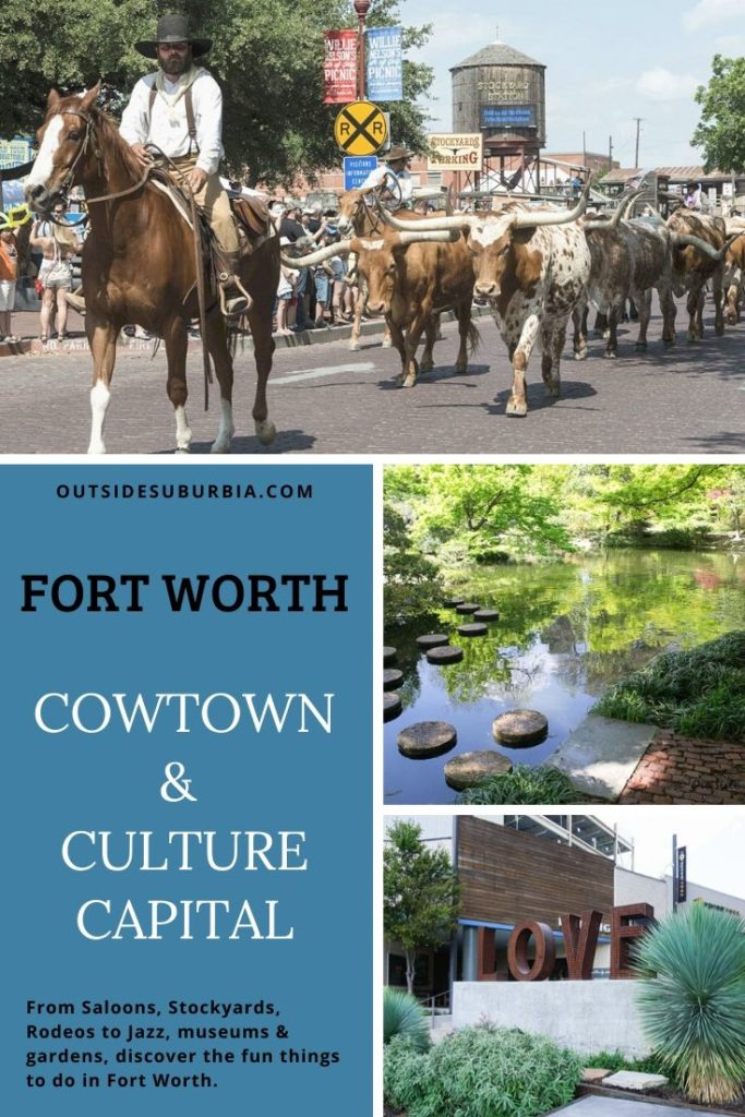 Cowtown & Culture Capital, Fun things to do in Fort Worth Texas | Outside Suburbia