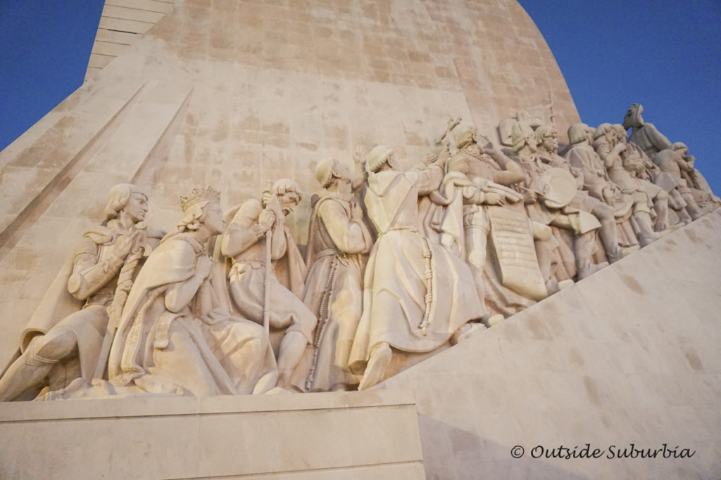 Discoveries Monument by Tagus River in Lisbon - Beautiful places in Portugal you need to visit - OutsideSuburbia.com