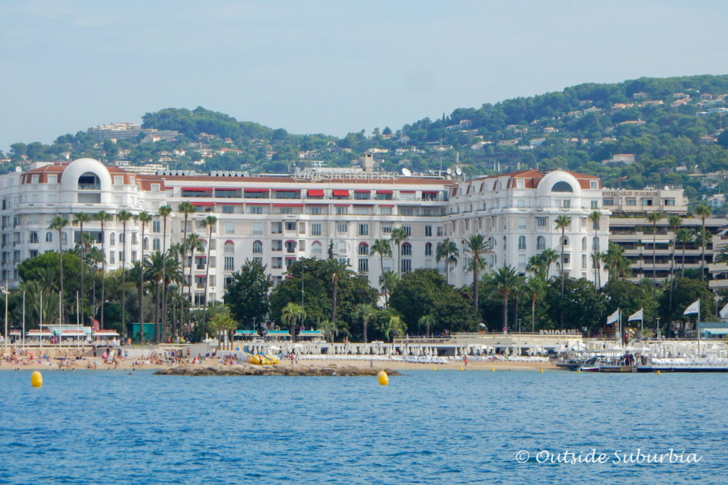 A view of the Cannes