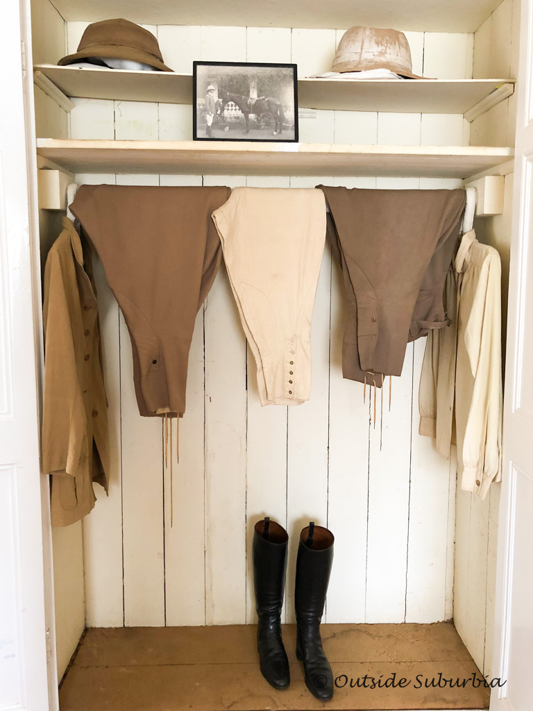 The costumes safari outfits used in the movie Out of Africa - Karen Blixen Museum - outsidesuburbia.com