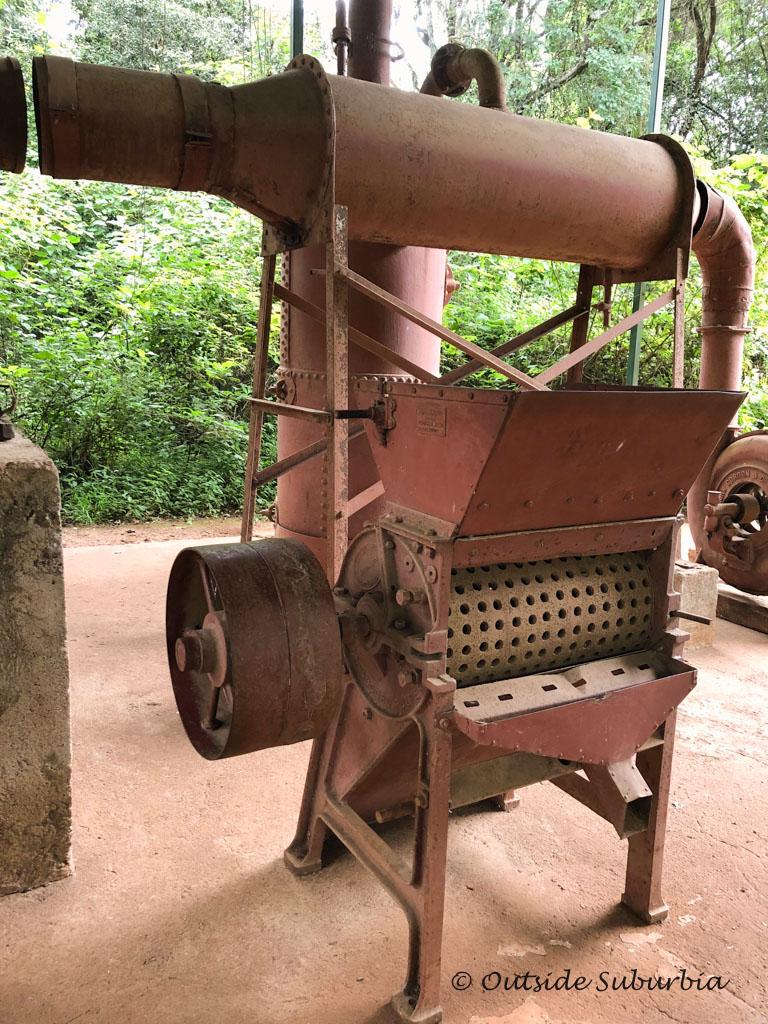 The coffee plantation equipment