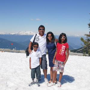 Summer snow at Whistler and Blackcomb Mountains