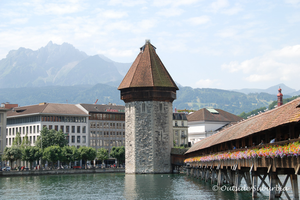 Kapellbrücke (or Chapel Bridge)  - Things to do if you have a day in Lucerne, Switzerland
