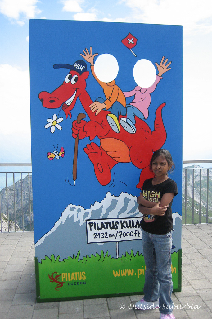 A fun day with Pilu at Pilatus Klum