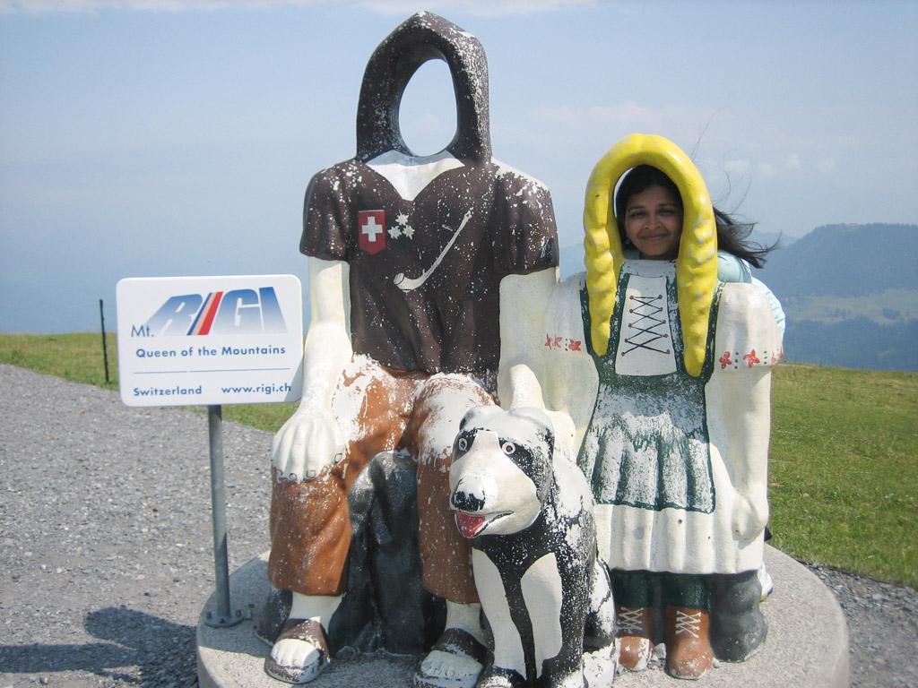 How to get to Mount Rigi, Switzerland