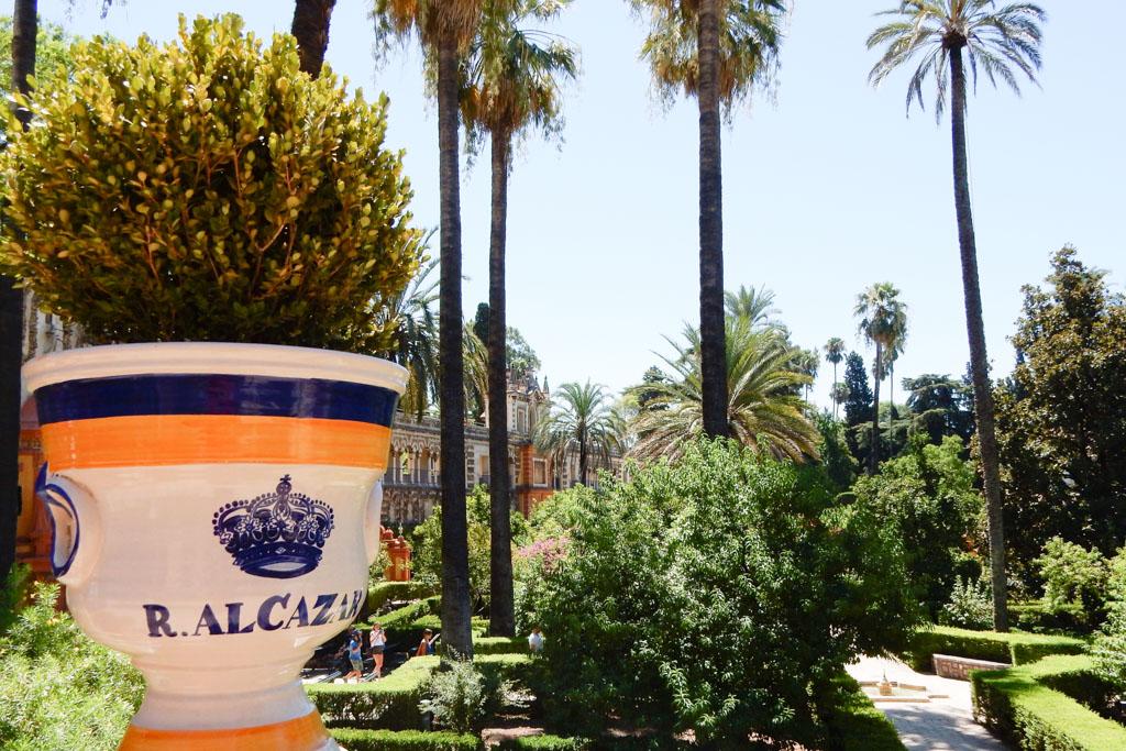 Alcázar's garden, Seville