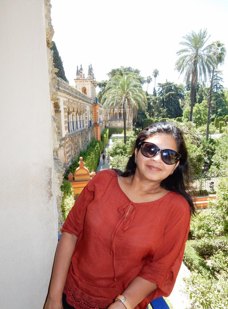 Ladies Garden, Alcazar, Seville