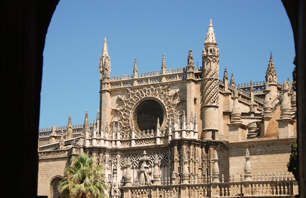 A View of the Seville Cathedral