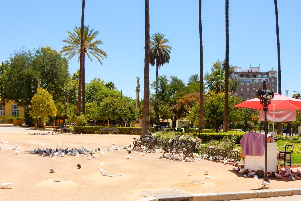Plaza de America, Seville