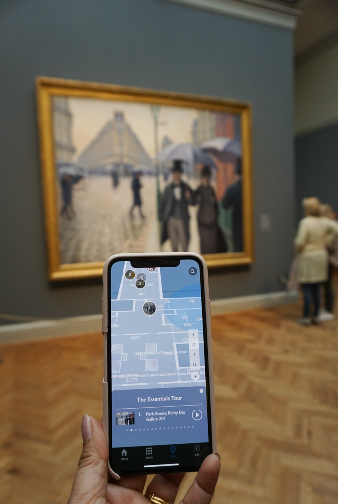 A virtual museum walk at the Art Institute of Chicago