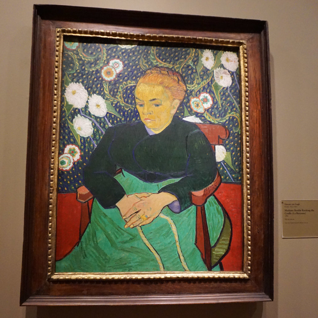 Madame Roulin Rocking the Cradle (La berceuse) - Artworks by Vincent Van Gogh at Art Institute of Chicago