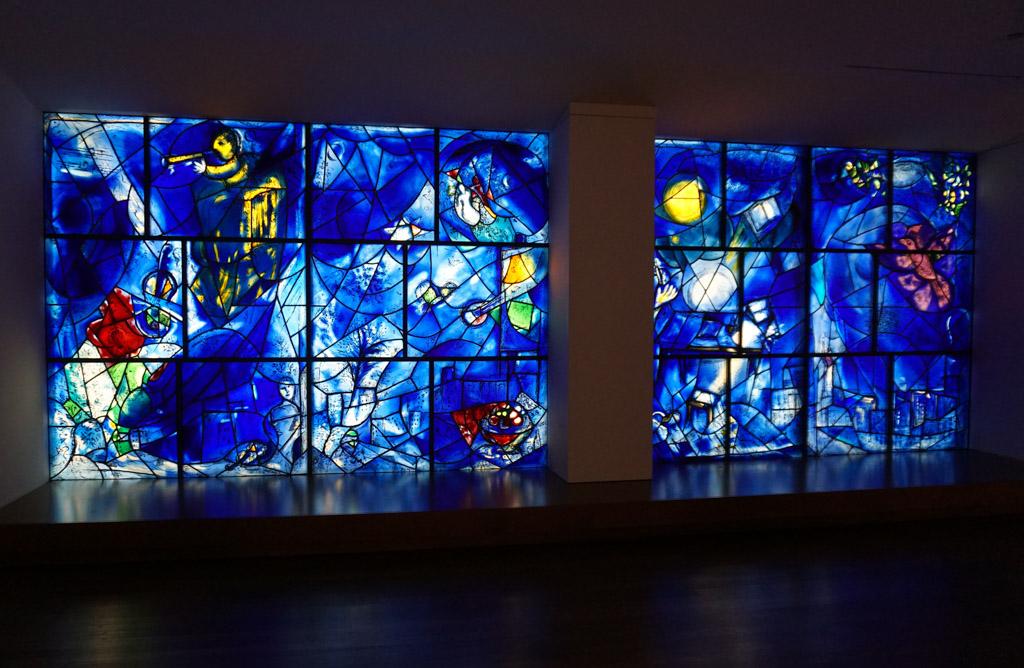 America Windows by Marc Chagall