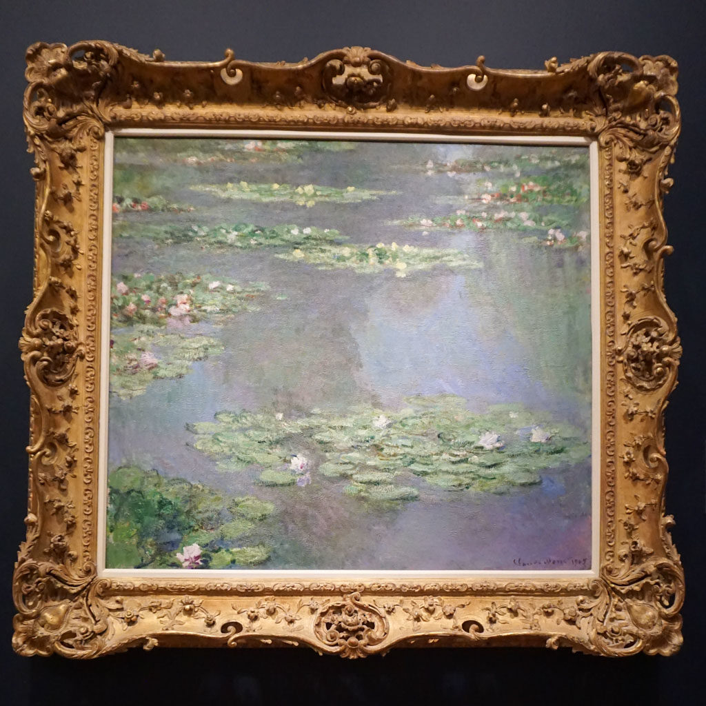 Claude Monet's Waterlilies at the Art Institute of Chicago
