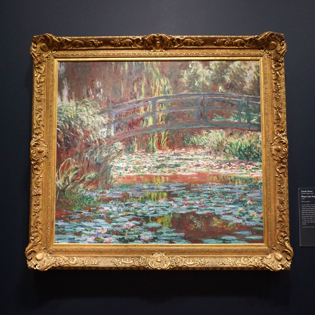 Water Lilies by Monet at Art Institute of Chicago