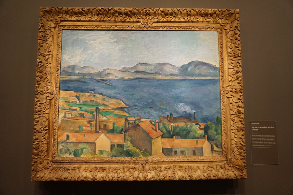 The Bay of Marseille, Seen from L'Estaque - Paul Cezanne