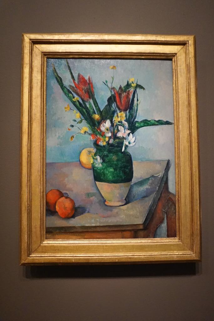 Vase of Tulips by Paul Cezanne