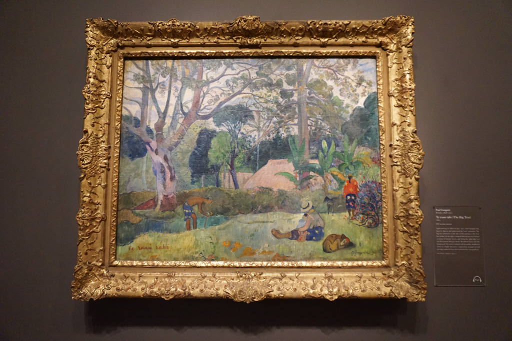 Te raau rahi (The Big Tree) - Paul Gauguin at the Art Institute of Chicago