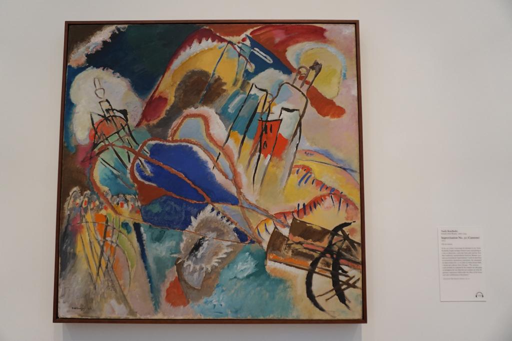 Improvisation No. 30  by Kandinsky