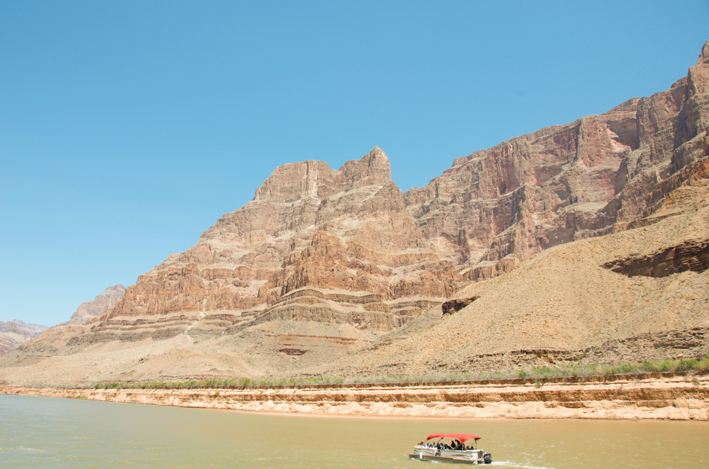 Pontoon Boat tour at Grand Canyon