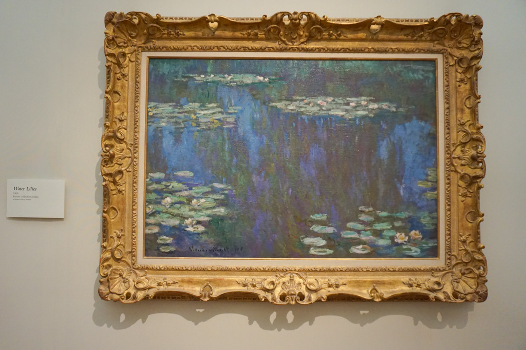 Water lily - Claude Monet Paintings & Techniques