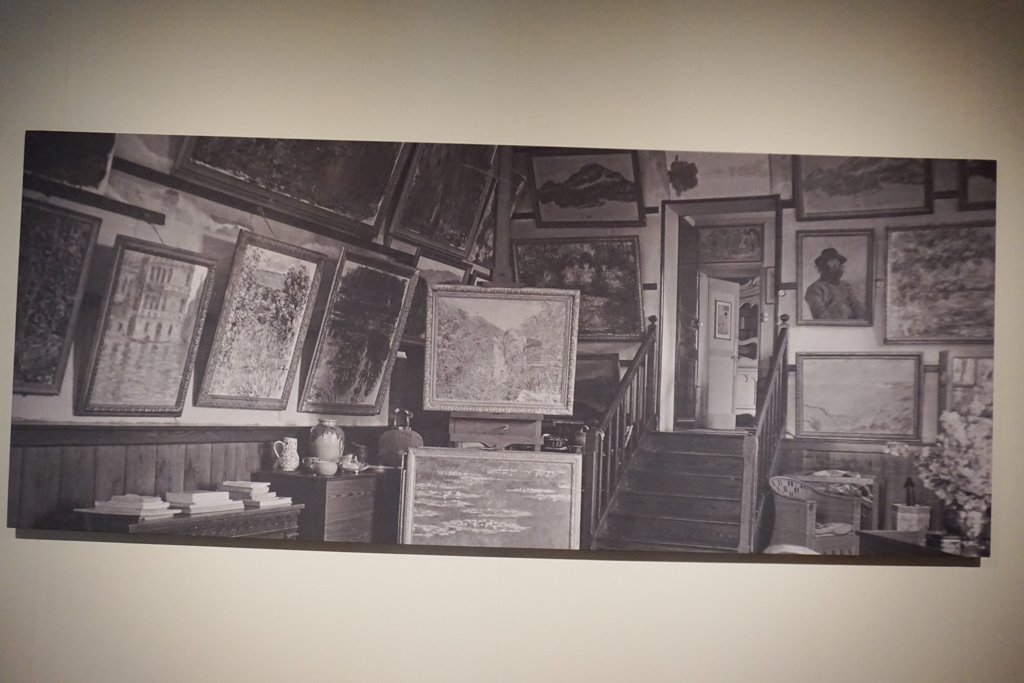 A photo of Monet's studio in Giverny