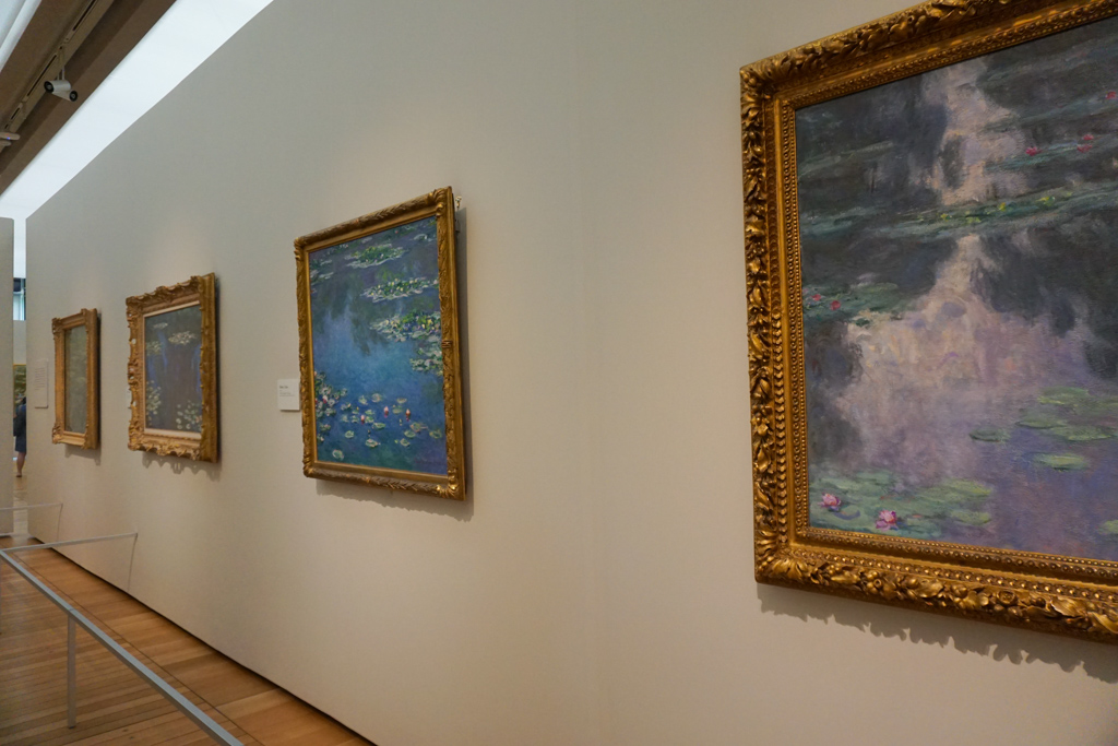 Monet:  The later years at Kimbell - Art Museums you can visit online for a virtual experience  - outsidesuburbia.com