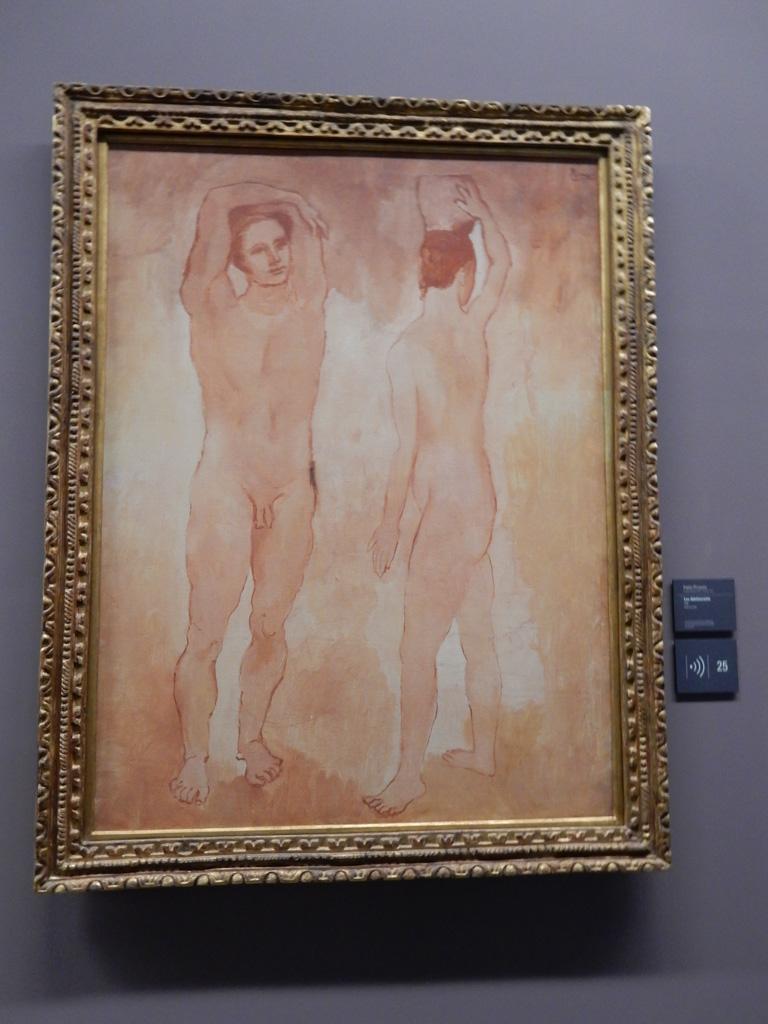 Works of Pablo Picasso at Musee de l'Orangerie in Paris