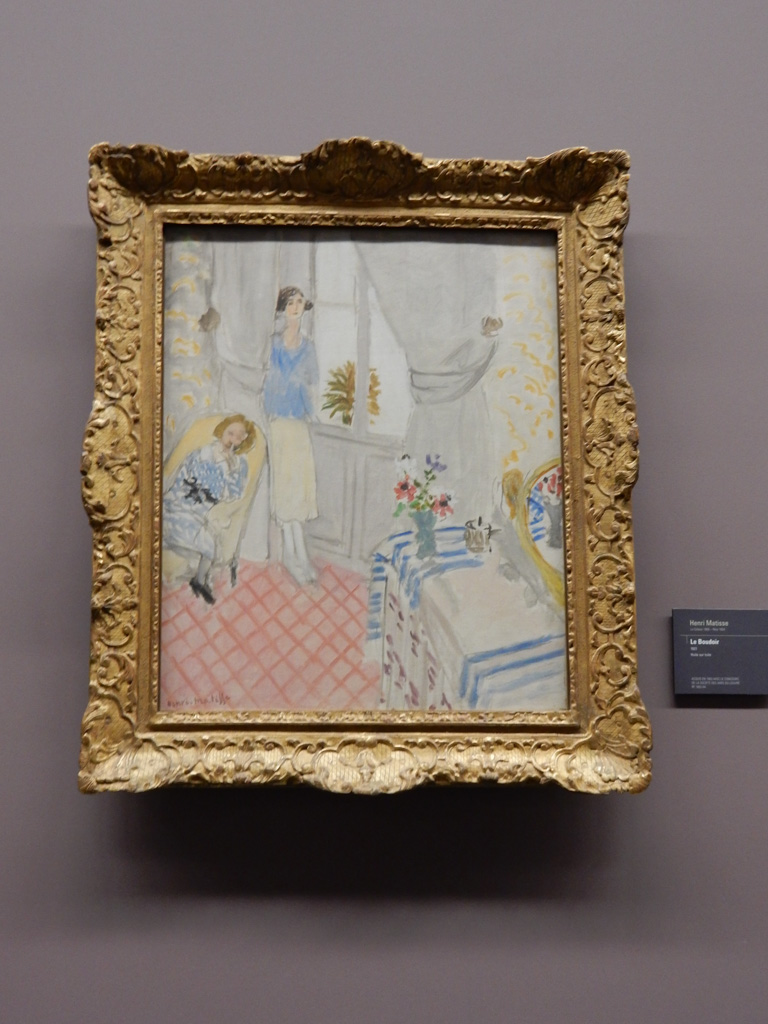 Works of Henri Matisse at Musee de l'Orangerie in Paris