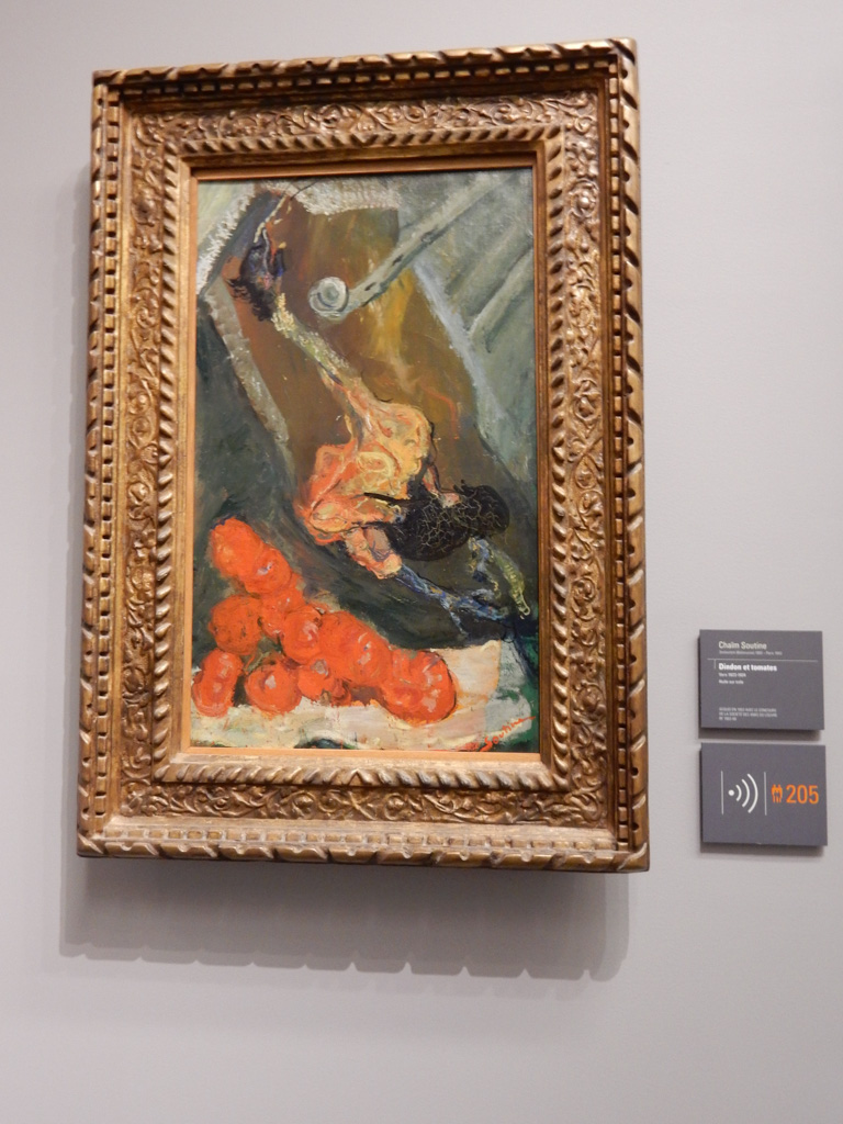 Works of Chaim Soutine at Musee de l'Orangerie in Paris