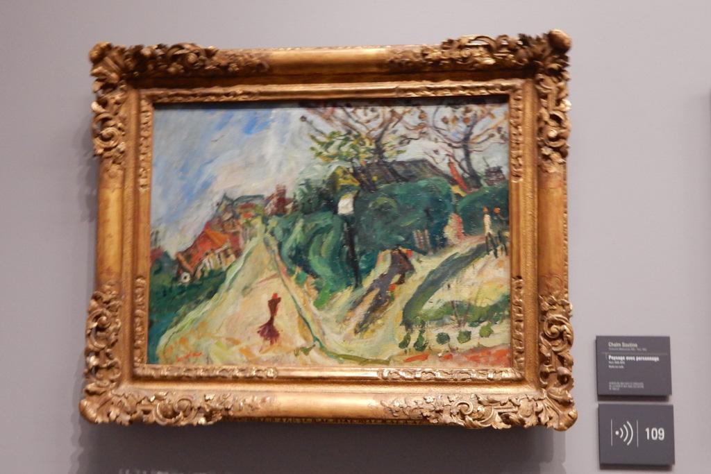 Works of Henri Matisse at Musee de l'Orangerie in Paris